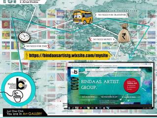 India's First International ONLINE ART COMPETITION & EXHIBITIONGROUP (BAG)
