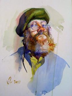 TONAPE, Bill, 2010, watercolor on paper,