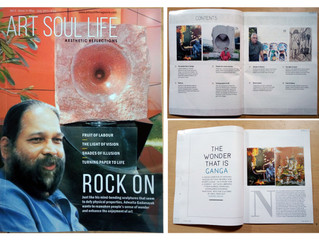 """""""ART SOUL LIFE"""" magazine, Magazine provide me an opportunity to showcase my creativity in May- July"""
