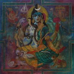 Ardhanaarishwara-48 X 48