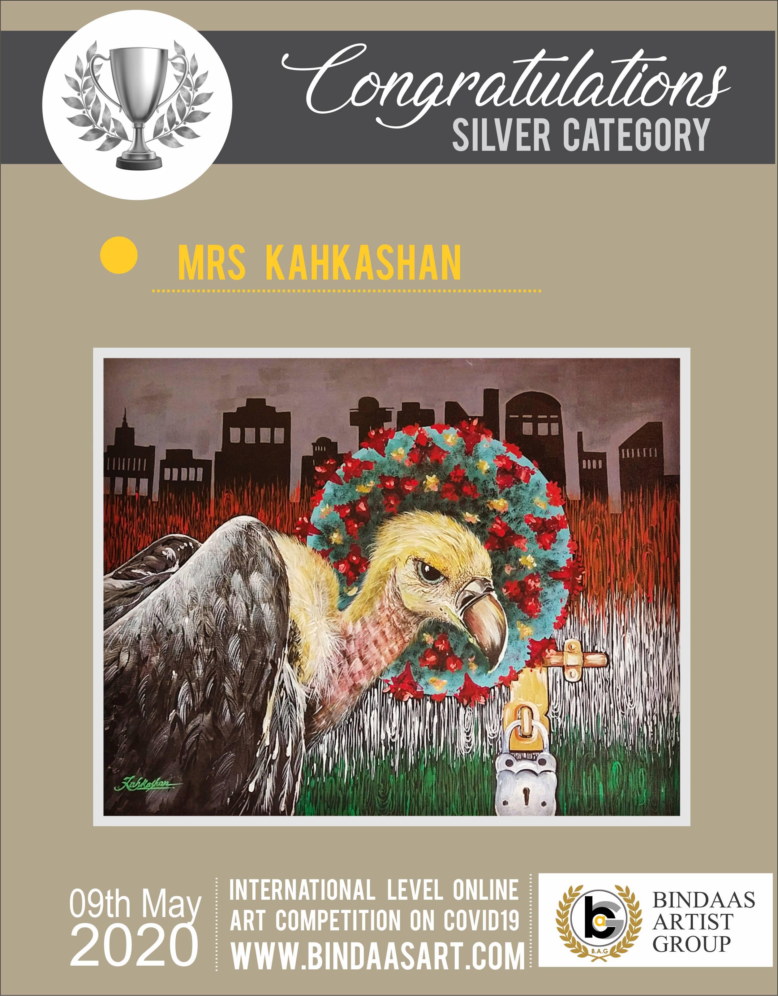 Mrs Kahkashan