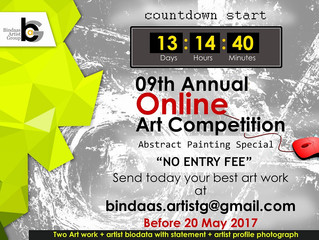 Abstract painting Online art Competition