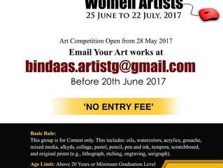 online art exhibition only for women artist