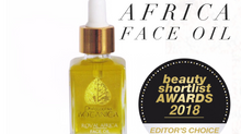 Our Royal Africa Face Oil has won an Award!
