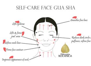 Self-Care Face Gua Sha