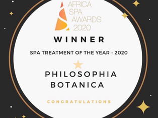 SPA TREATMENT OF THE YEAR 2020