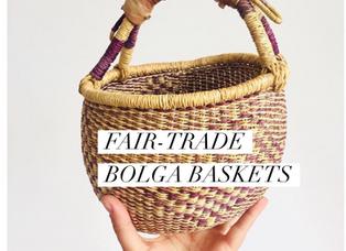 Fair-Trade Bolga Baskets