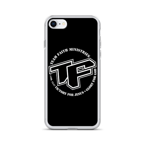 iPhone Case - TF with Slogan logo - Blk Back