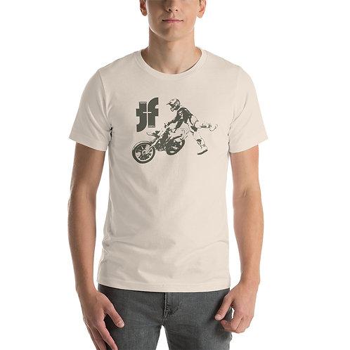 Rider Logo Short-Sleeve Unisex T-Shirt