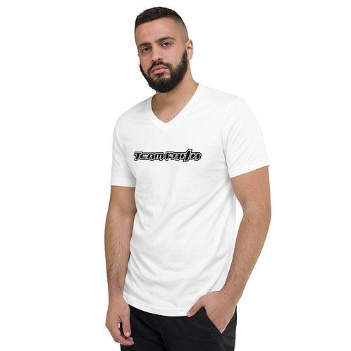 Corporate logo Unisex Short Sleeve V-Neck T-Shirt