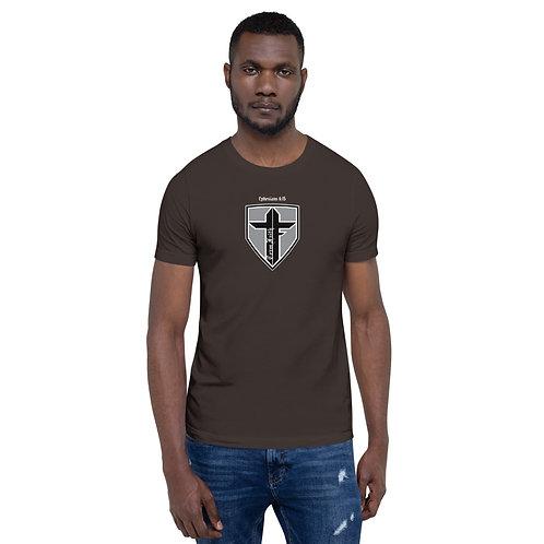 Shield Logo Short-Sleeve Unisex T-Shirt