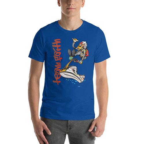 JetSki Toon Logo Short-Sleeve Unisex T-Shirt