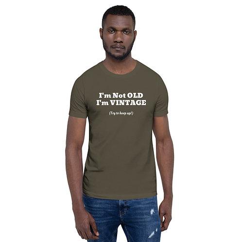 Vintage Short-Sleeve Unisex T-Shirt
