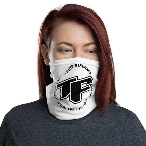 TF with Slogan Logo Neck Gaiter