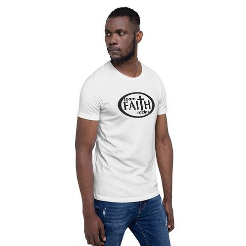Oval Logo Short-Sleeve Unisex T-Shirt