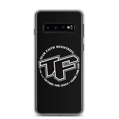 Samsung Case TF with Slogan Logo - Black