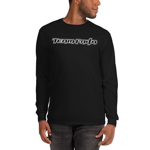 Men's Corporate Logo Long Sleeve Shirt - Dark Colored