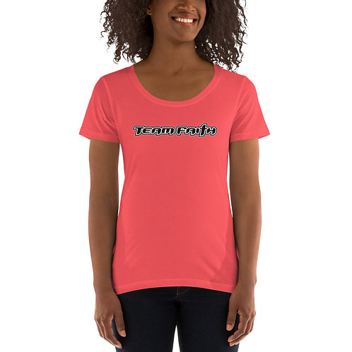 Corporate Logo Ladies' Scoopneck T-Shirt