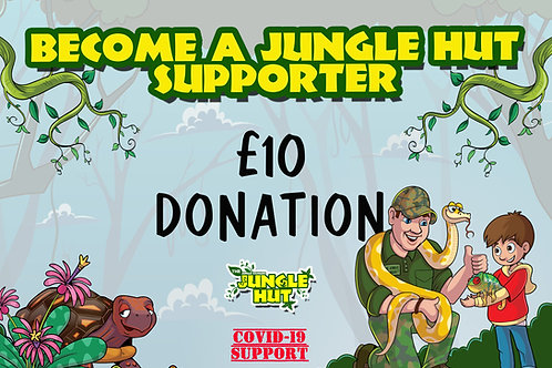 Jungle Hut supporter
