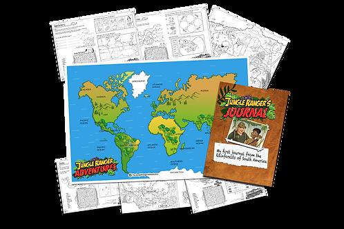 Jungle Ranger Adventures Educational/Activity Pack 1