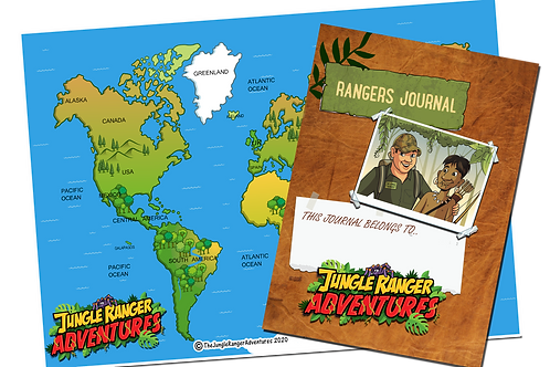 6 month Jungle Ranger Adventures Journal