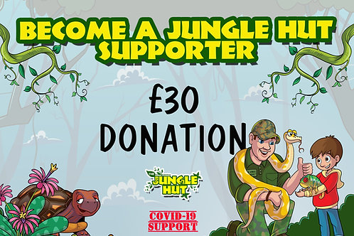 Jungle Hut supporter