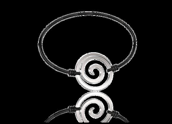 Bracelet spirale or