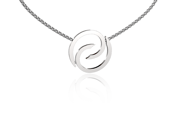 Collier spirale or