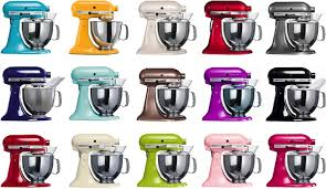 kitchenaid maixer color