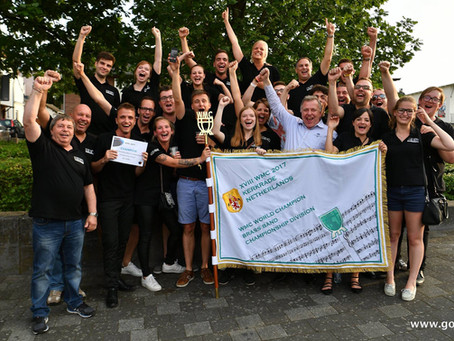 Eerste Belgische wereldkampioen in geschiedenis: Brassband Willebroek!