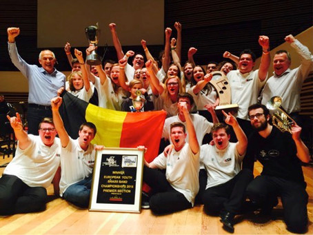 Young Brassband Willebroek wint opnieuw EYBBC 2016!