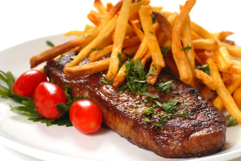 Steak met frieten