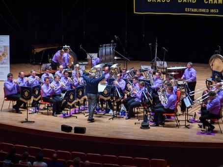 Brassband Willebroek in de prijzen op prestigieuze British Open