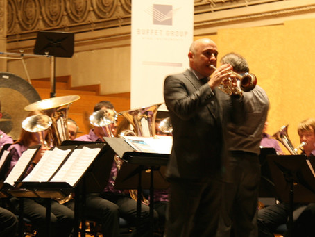 Roger Webster on Solo Cornet for European Brass Band Championships 2014