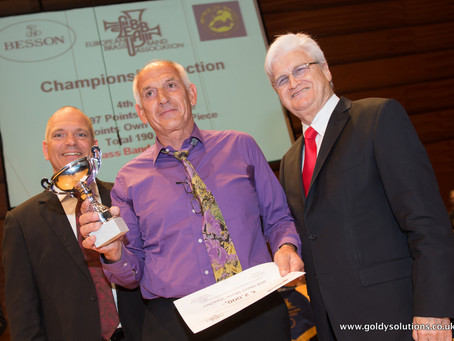 Brass Band Willebroek places 4th at European Brass Band Championships 2014!