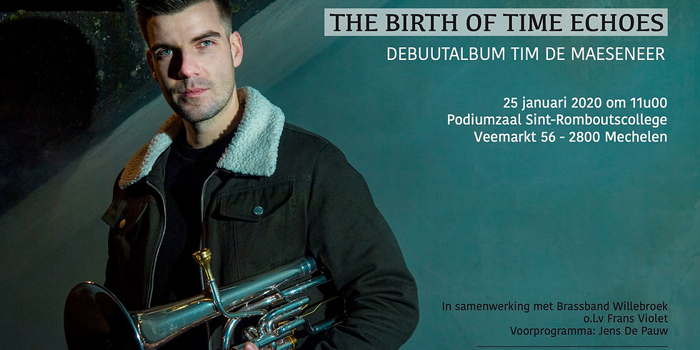 CD Release Tim De Maeseneer