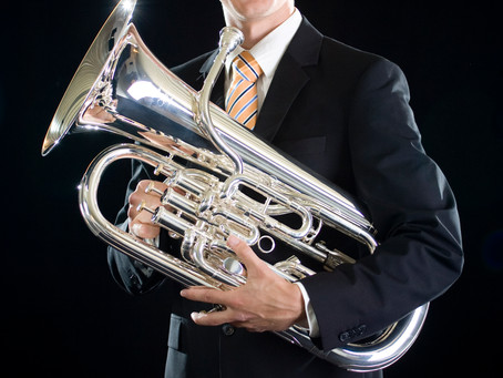 Kevin Van Giel new Principal Euphonium Brass Band Willebroek