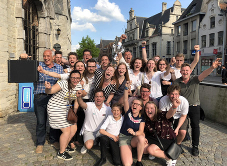 Young Brass Band Willebroek Flemish Open B-champions!