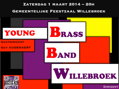 Double concert Brass Band Willebroek & Young Brass Band Willebroek