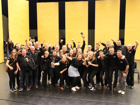 Brassband Willebroek viert haar 40-jarig bestaan met 3de Belgische titel op rij!