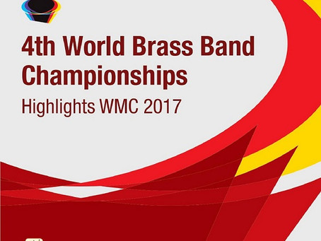 Brass Band Willebroek on Highlights WMC 2017