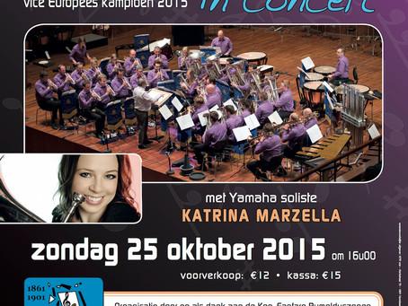 Brass Band Willebroek in Concert met Katrina Marzella