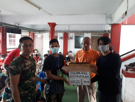 Donasi Jaker Gotong Royong untuk Para Pekerja Migran Indonesia yang dideportasi selama Masa Pandemi