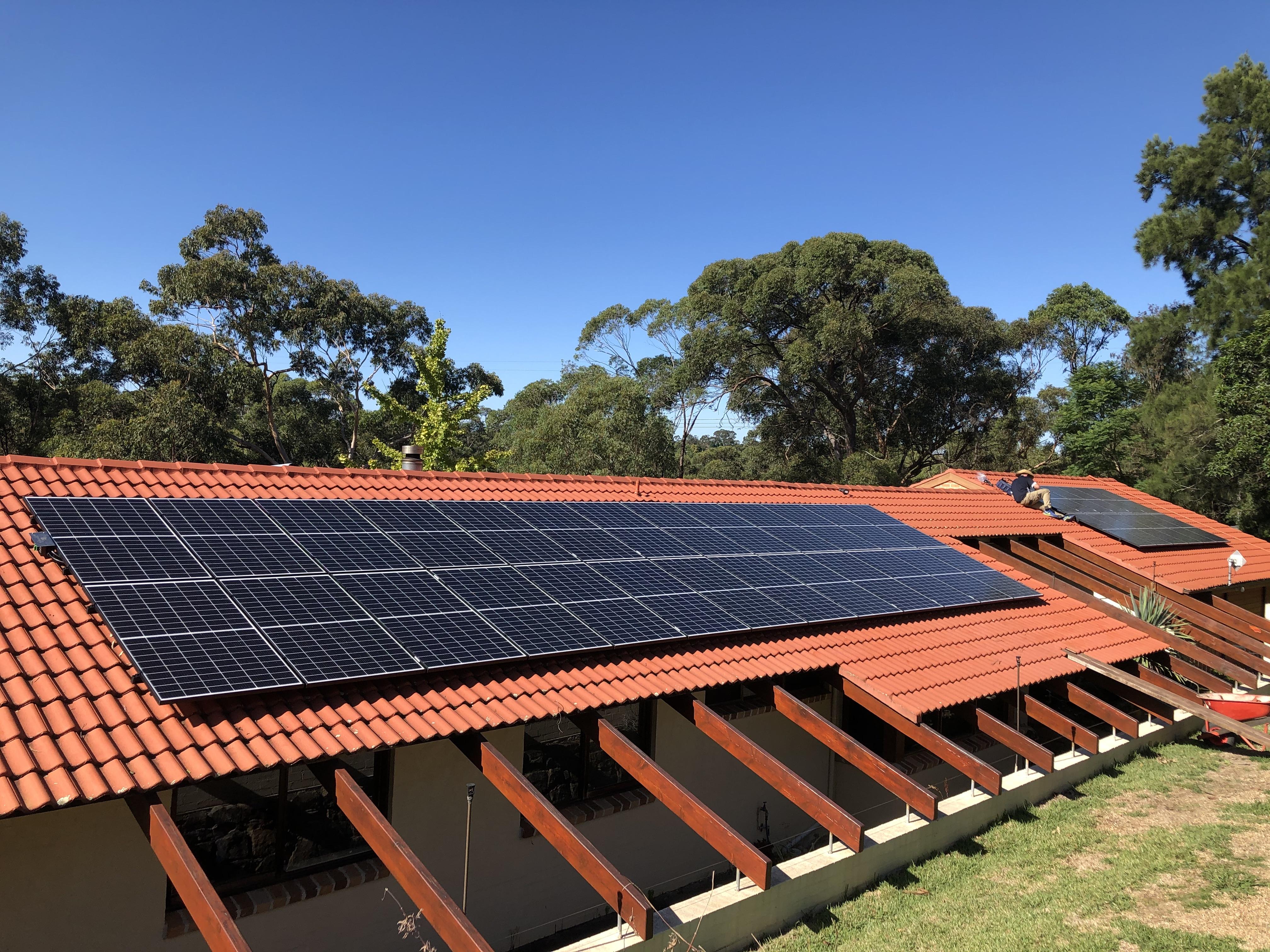 """""""Kenthurst Solar Installation"""""""