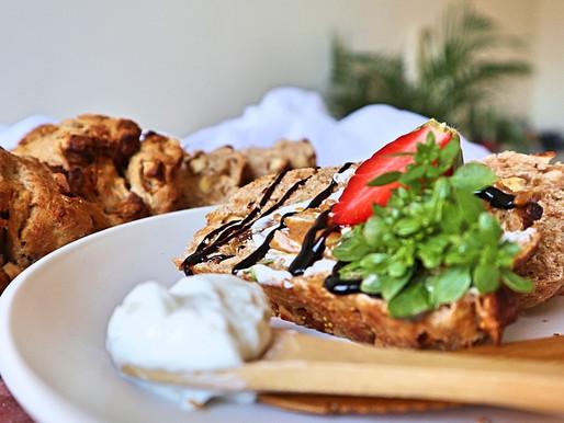 RECEPT: appel-vijgenbrood met balsamico (makkelijk brood)