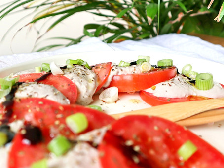 Plantaardige mozzarella (5 ingrediënten!)