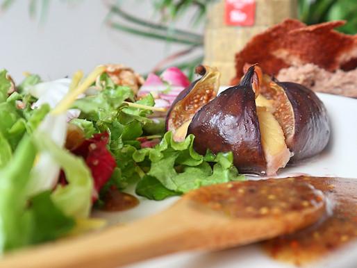 RECEPT: vijgen met vg kaas uit de oven (oma's herfstrecept)