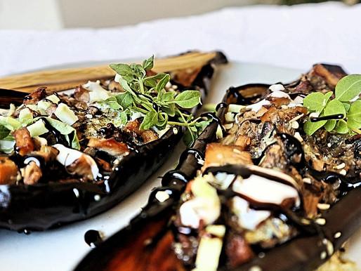 RECEPT: gevulde aubergines met broccoli en tofu (perfect voor mealprep!)