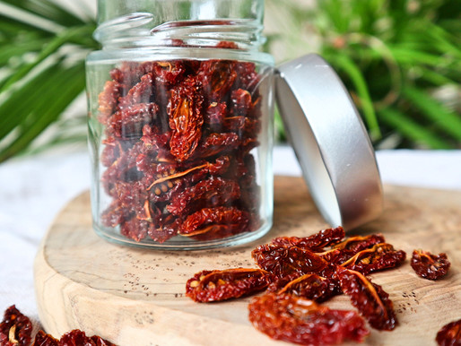 RECEPT: zelfgedroogde tomaten (1 ingrediënten - supersimpel)