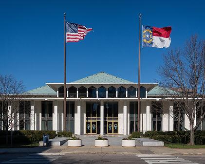 Exterior of the State Legislative buildi
